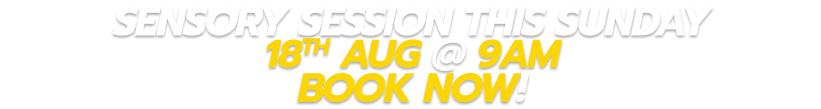 Sensory-Session-this-Sunday-the-18th-Aug-at-9am-Book-now-CORPORATE Jump | Auckland | North Shore | Avondale | Takanini {keyword}